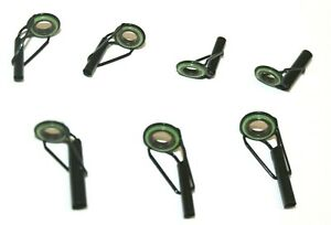 SWIFT TACKLE LHGT TIP TOP EYE GUIDES ROD BUILDING / REPAIRS - CHOOSE SIZES