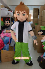 2019 Ben 10 Mascot Costume Cartoon Brave Cosplay Fancy Party Unisex Dress Parade