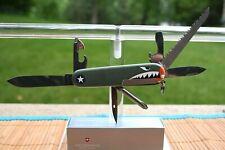 "SPRINT RUN-VICTORINOX SWISS ARMY KNIFE ""HIKER WARHAWK"" WWII P-40 FIGHTER PLANE"