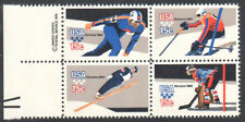 SC#1798b - 15c Winter Olympics Margin Block of 4 MNH