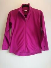 BNWT Polarn O Pyret Girl's Pink Polyester Fleece Jacket Size 10 11 12 Years New
