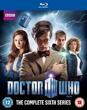 BLU RAY DOCTOR WHO THE COMPLETE SERIES  SIX, REGION B