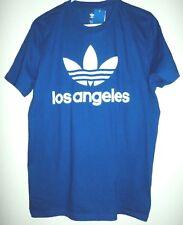 Adidas Original Los Angeles Blue Shirt Size Large Mens NEW!