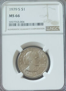 1979-S Susan B Anthony Dollar - NGC MS66
