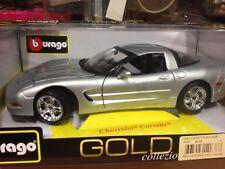 Coche coleccion BURAGO,escala 1/18,Ref.BU12038,CHEVROLET Corvette