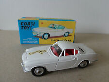 Corgi Toys 258 The Saint Saint's Volvo P1800 Roger Moore Simon Templar PERFECT!