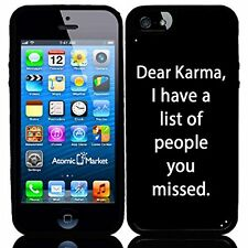 Dear Karma I Have A List Of People You Missed For Iphone 6 Case Cover