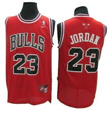 Michael Jordan Chicago Bulls Nike Throwback Classics Jersey - Red