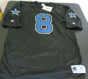 TROY AIKMAN No Name DALLAS COWBOYS Replica CHAMPION Black XL 48 Jersey VINTAGE