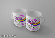 Fart Rainbows - Be A Vegetarian - Fun Unicorn Tea/Coffee Mug - Gift Idea