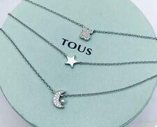 Original TOUS Nocturne Silver Diamond Necklace