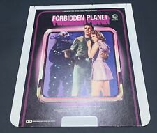 Forbidden Planet CED RCA Selectavision VideoDisc - Leslie Nielsen, Sci-Fi - VTG
