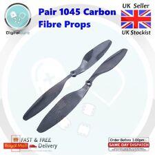 """PAIR 10"""" 1045 Carbon Fiber Propeller CW CCW Props - DJI Quad Hex Octo F450 F550"""