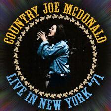 2 CD - Country Joe McDonald : Live in New York '71 (2016) ***NEW***