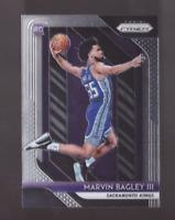2018/19 Panini Prizm MARVIN BAGLEY III Rookie Card Sacramento Kings RC