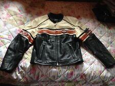 Harley Davidson Lederjacke H.D. Leather Racing Jacket Leder Jacke -M -Neuwertig!