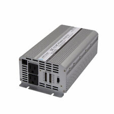 AIMS Power 1250W Modified Sine Wave Inverter 3100 Watts Surge 12V PWRINV1250W