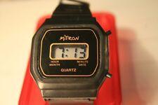 1980er Herren Armbanduhr Piratron  Digital LCD
