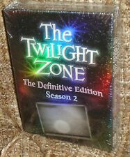 THE TWILIGHT ZONE THE DEFINITIVE SEASON 2 DVD BOX, NEW & SEALED, CLASSIC TV!