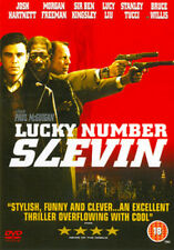 LUCKY NUMBER SLEVIN DVD [UK] NEW DVD