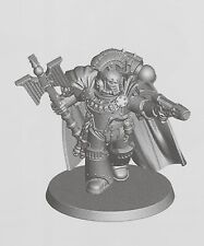 Warhammer 40000 Chapelain en armure MK4