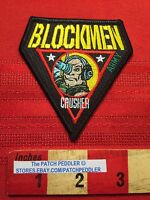 RARE PATCH Blockmen Military Building System CORPORAL CRUSHER ~ ARMY 64G2