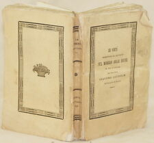 GIACOMO MICOVICH LE VIRTU PRESENTATE AL CRISTIANO DIVINE 1846 REDENTORE VIRTU