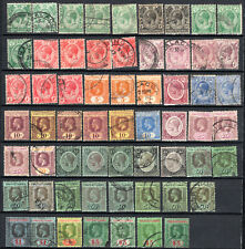 MALAYA SINGAPORE STRAITS SETTLEMENTS KGV 1912-1923 COMPLETE SET OF USED STAMPS