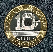 10 FRANCS GENIE DE LA BASTILLE 1991 DU COFFRET BE