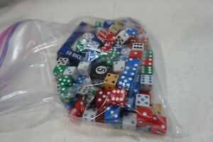 bb-x BAG OF 150++ PLASTIC DICE