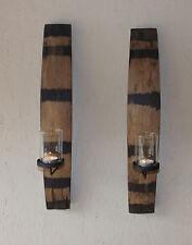 1 stk.Wandkerzenhalter Kerzenhalter,Design,F45H,Fassdaube unikat selten germany