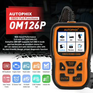 Automotive Car Code Reader OBD2 EOBD Scan Tool Engine Fault Diagnostic Scanner