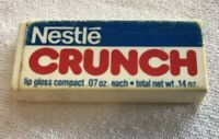VINTAGE AVON NESTLE CRUNCH CANDY BAR LIP GLOSS COMPACT Outer Case Only