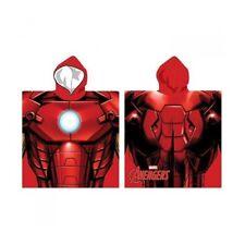 Poncho IRON MAN Avengers 55x110cm * NEUF * cape de bain/poncho/drap de bain