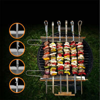 BBQ Kebab Grilling Rack Household Simple Stainless Steel Wild Barbecue Supplies