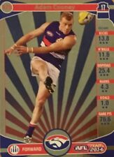 2014 afl TEAMCOACH GOLD WESTERN BULLDOGS ADAM COONEY #178 CARD FREE POST