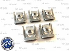 5X NEW GENUINE OEM BMW UNDER ENGINE & GEARBOX UNDERTRAY COVER CLIPS FASTENERS