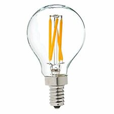 G14 LED Decorative Globe Light Bulbs, 4W, Warm White, 2700K 350 LUMENS 40W