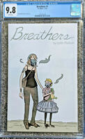 Breathers #1 Main Cover CGC 9.8 Justin Madson Its Alive Comics 2019 Low Print