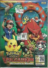 POKEMON THE MOVIE 19:VOLCANION AND THE MECHANICAL MARVEL - DVD BOX SET (ENG SUB)