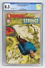 DC Comics Strange Adventures #213 CGC 8.5 OW/WP Deadman Neal Adams Cover 1968
