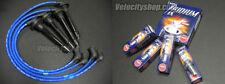 NGK Iridium Spark Plugs & Wires 92-95 Civic EX / 96-00 Civic EX