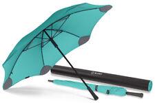 BLUNT Classic MINT GREEN Large Storm Resistent Stick Umbrella - 2 YEAR Warranty