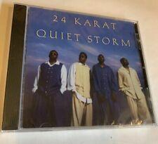 24 KARAT Quiet Storm EP 1996 Rare Indie R&B CD Brand New Sealed