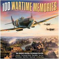 100 Wartime Favourites 4 CD Sets Andrew Sisters Glenn Miller Vera Lynn Ink Spots