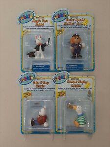 Webkinz Ganz Figures Lot of 4 NIP Magic Time Rabbit & More L7