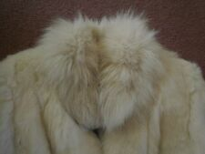Womens vintage fur jacket- medium