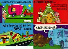 POSTCARDS LOT OF 7 COMIC - HUMOROUS CARDS REF 107