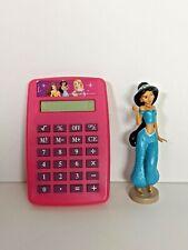 Disney Princess Pink Small Calculator & Jasmine small Vintage Toy