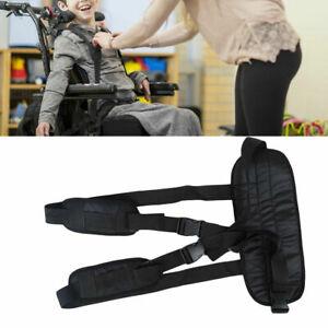 Adjustable Wheelchair Safety Harness Strap Shoulder Belt Adult Elderly
